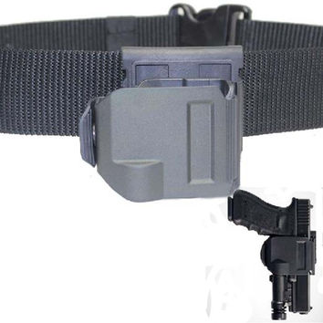 Tactical Airsoft Gun Clip OWB pistol Belt Holster for Glock 17 19 22 23