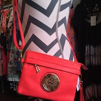 Tory Burch Replica Crossbody Purse ~ Red