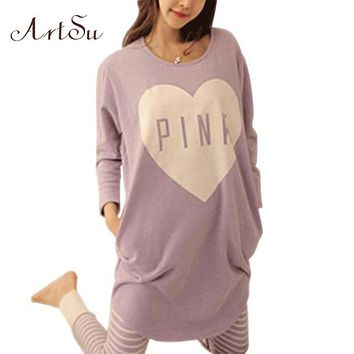 Pajama Sets O-Neck