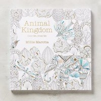Lark Crafts Animal Kingdom Coloring Book in White Size: One Size House & Home