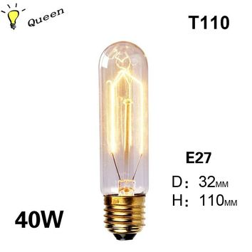 40w lampada ampoule vintage edison bulb e27 bombillas retro lamp incandescent edison light fixtures led lamp bulb fairy lights
