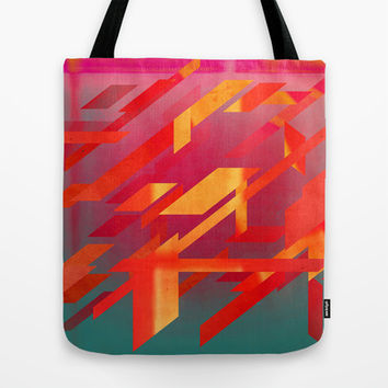 Fragmented Tote Bag by DuckyB (Brandi)