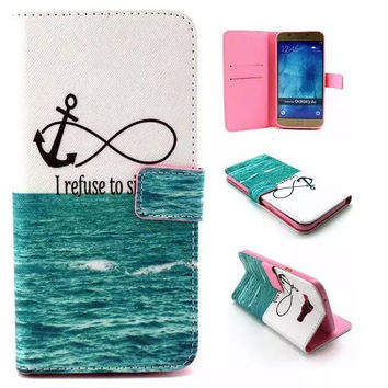 Anchorr & Infinite Leather creative case Cover Wallet for iPhone & Samsung Galaxy