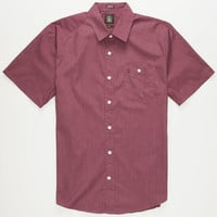 Volcom Everett Mens Shirt Merlot  In Sizes