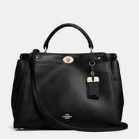 Gramercy Satchel in Leather