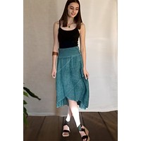 Italian Linen Skirt from inizio