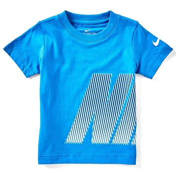 Nike Little Boys 2T-7 Short-Sleeve Lenticular Oversized Tee | Dillards