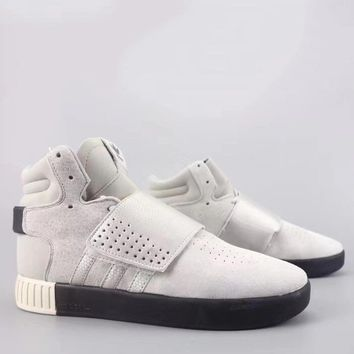 Adidas Tubular Invader Strap Fashion Casual High-Top Old Skool Shoes-15