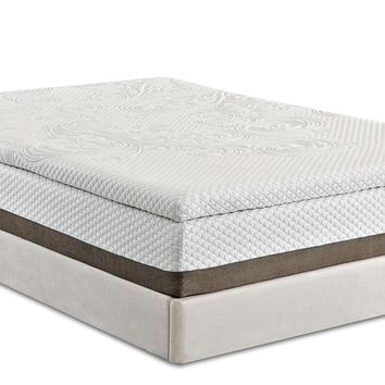 "Pinnacle 12"" Puregel Plus Memory Foam Mattress by Enso Sleep Systems"