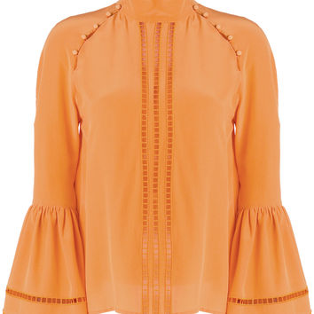 Fendi Embroidered Fitted Blouse - Farfetch