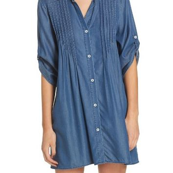 Tommy Bahama Chambray Cover-Up Tunic | Nordstrom