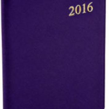 2016 Weekly Desk Dark Purple Cartier Planner