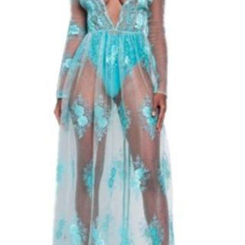 Mystical Journey Maxi Dress