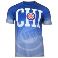 Chicago Cubs Official MLB Gradient Sublimated T-shirt