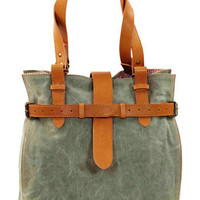 Jamie Young Bags Montauk Olive