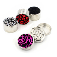 3 Layers Smoking Pipe Hand Crank Cigar Crusher Herb Spice Metal Tobacco Grinder