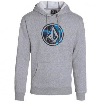 Volcom Reservation Pullover Hoody - Heather Grey