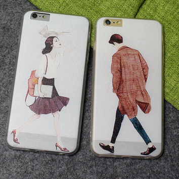 Lover Case Ultrathin Cover for iPhone 5 6 6s Plus