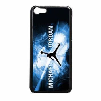 CREYUG7 Michael Jordan Flying NBA Basket iPhone 5c Case