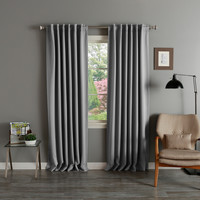 Lights Out Solid Insulated Thermal Blackout Curtain Panel Pair | Overstock.com Shopping - The Best Deals on Curtains
