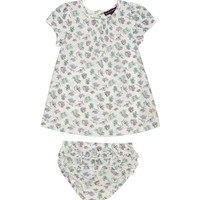 Shell Floral Print Woven Tencel Dress With Panty by Juicy Couture,