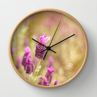 Top Hat Wall Clock by Dena Brender Photography
