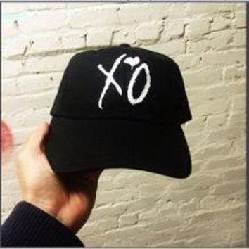 The Weeknd Hat XO ABel shirt Concert Merch HILLS casquette kanye west bear dad hat rare palace caps drake KERMIT cap wolves hats