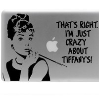 Breakfast at tiffany's vinyl decal