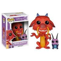 Mulan Mushu and Cricket Pop! Vinyl Figure