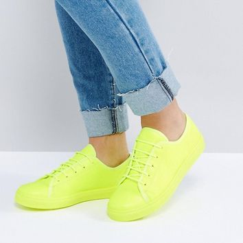 ASOS DANGER Lace Up Trainers at asos.com