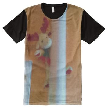 moose toy All-Over-Print T-Shirt