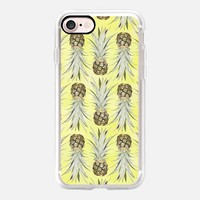 Pineapple Jungle - Yellow iPhone 7 Case by Lisa Argyropoulos | Casetify
