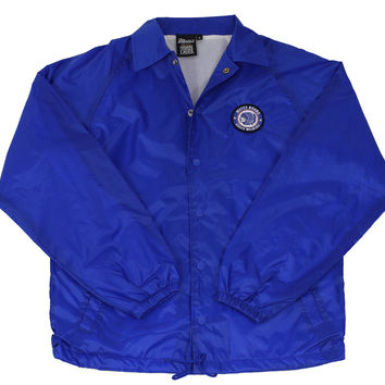 "Blue ""Premium Quality"" Coaches Jacket"