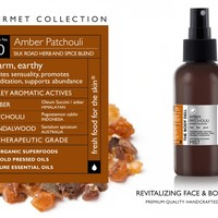 Amber Patchouli Gourmet Face & Body Mist