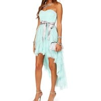 Annette-Seafoam Homecoming Dress