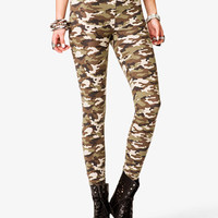 Camo Print Leggings