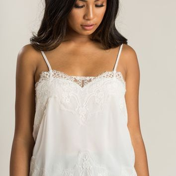 Rosalyn Cream Lace Cami