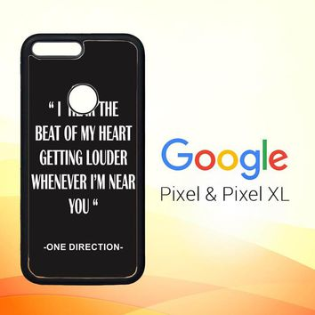 One Direction Lyrics R0263 Google Pixel Case