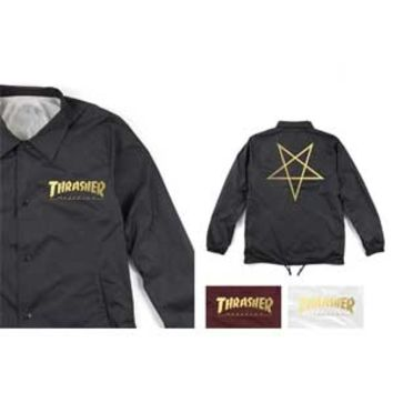 Thrasher Magazine Thrasher Pentagram Coach Jacket