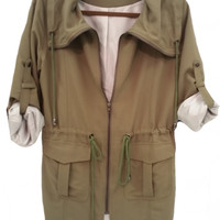 Paxton Utility Jacket - Olive
