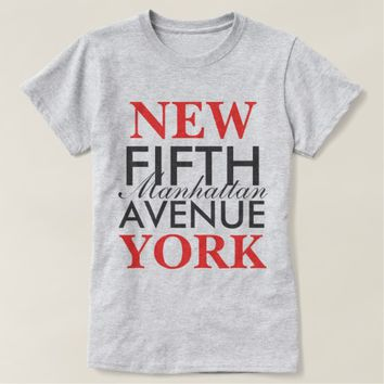 Fifth Avenue New York T-Shirt