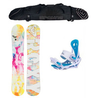 Special Roxy Sugar and Mystic Women's Snowboard Package
