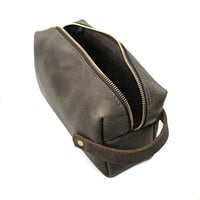 High Line Leather Pouch - Large