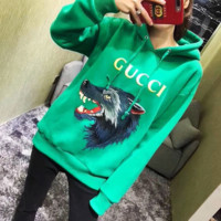''Gucci'' Fashion Pattern Embroidery Hot Hoodie