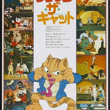 Fritz the Cat (Japanese) 27x40 Movie Poster (1972)