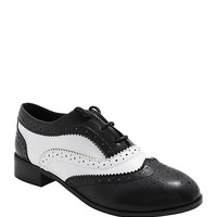 Black & White Saddle Shoes