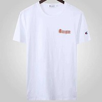 Champion Fashion Casual Short Sleeve Top Tee