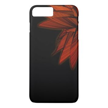 Orange Fern iPhone 7 Case