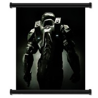 "Halo 4 Game Fabric Wall Scroll Poster (32"" x 36"") Inches:Amazon:Arts, Crafts & Sewing"