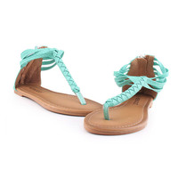 SakuraShop — Braided Simple Sandals Shoes